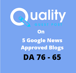 5 Google News Sites Combo – P5