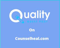 Guest Post on Counselheal.com