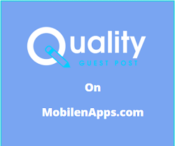 Guest Post on MobilenApps.com