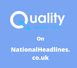 Guest Post on NationalHeadlines.co.uk