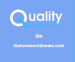Guest Post on Natureworldnews.com