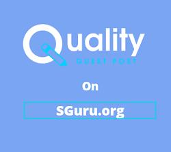 Guest Post on SGuru.org