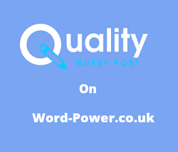 Guest Post on Word-Power.co.uk