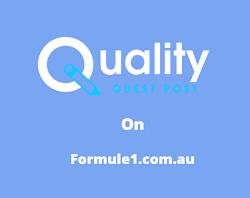 Guest Post on formule1.com.au