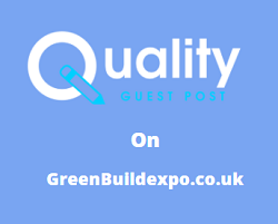 Guest Post on greenbuildexpo.co.uk