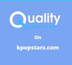 Guest Post on kpopstarz.com