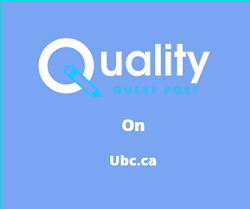 Guest Post on ubc.ca