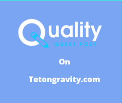 Guest Post on tetongravity.com