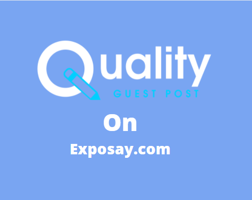 Guest Post on Exposay.com