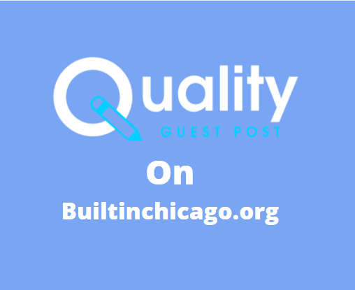 Guest Post on builtinchicago.org