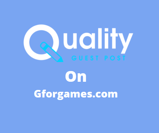 Guest Post on gforgames.com