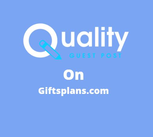 Guest Post on giftsplans.com