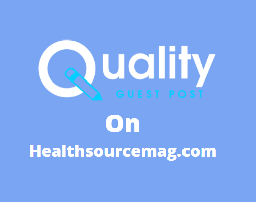 Guest Post on healthsourcemag.com