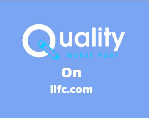 Guest Post on ilfc.com
