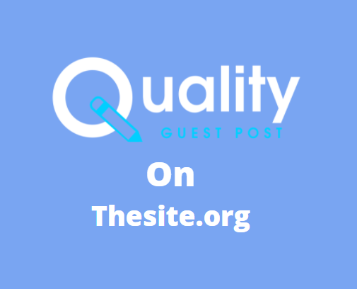 Guest Post on thesite.org