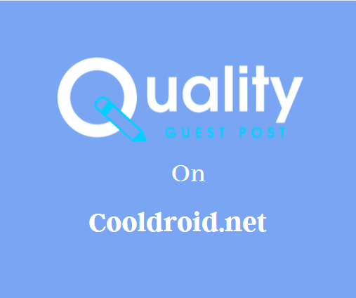 Guest Post on Cooldroid.net