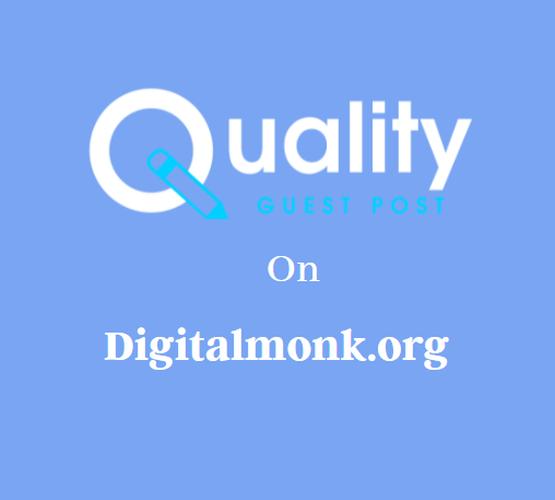Guest Post on Digitalmonk.org