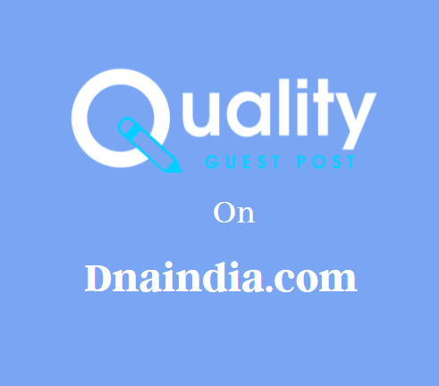 Guest Post on Dnaindia.com