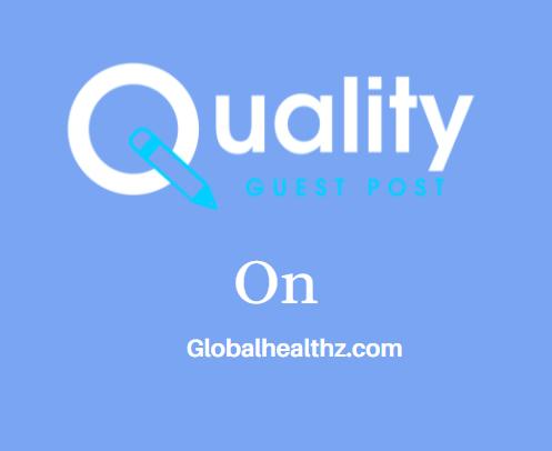 Guest Post on Globalhealthz.com