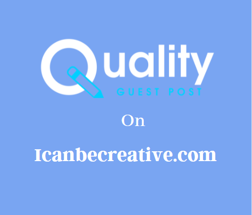 Guest Post on Icanbecreative.com