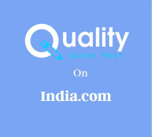 Guest Post on India.com