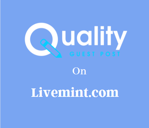 Guest Post on Livemint.com