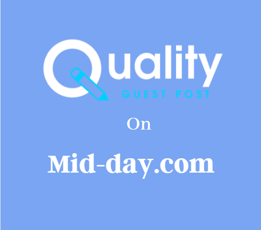 Guest Post on Mid-day.com