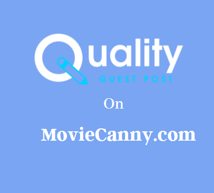 Guest Post on MovieCanny.com