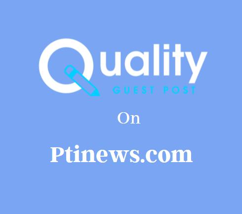 Guest Post on Ptinews.com