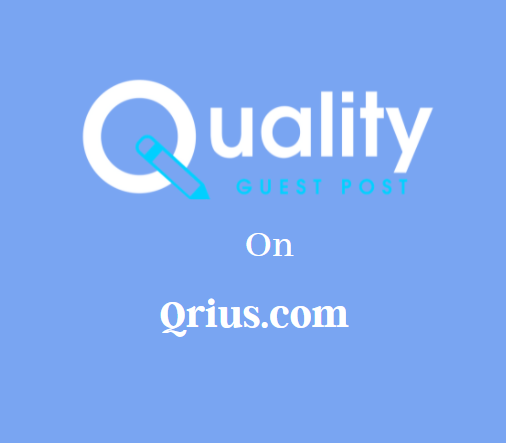 Guest Post on Qrius.com