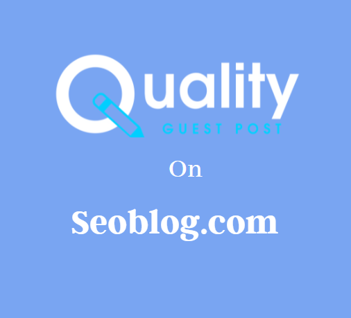 Guest Post on Seoblog.com
