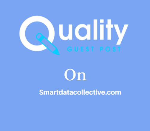 Guest Post on Smartdatacollective.com
