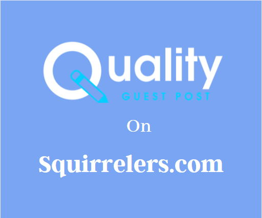 Guest Post on Squirrelers.com
