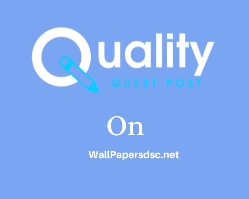 Guest Post on WallPapersdsc.net