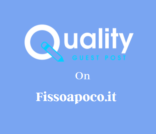 Guest Post on Fissoapoco.it