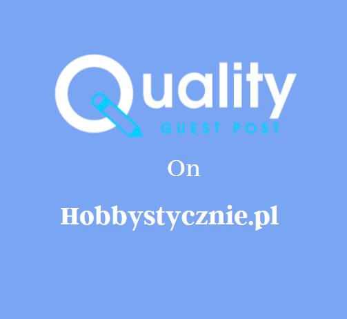 Guest Post on Hobbystycznie.pl