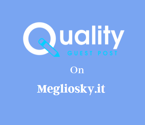 Guest Post on Megliosky.it