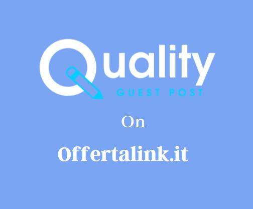 Guest Post on Offertalink.it